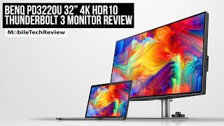 "BenQ PD3220U 32"" 4K Thunderbolt 3 Monitor Review"
