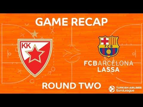 Highlights: Crvena Zvezda mts Belgrade - FC Barcelona Lassa