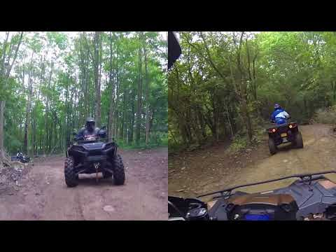 10 Polaris Sportsman XP 1000 LE Trail Rides Tall Pines with a War Hero, Sportsman 850 and 500