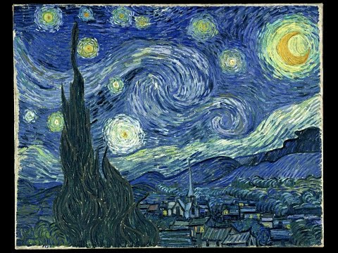 """How a mathematician channeled Van Gogh: """"Painting the Way to the Moon,"""" a feature documentary"""
