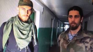 Француз и бразилец на Донбассе