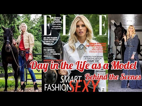 Come Behind the Scenes My Cover Shoot | A Day in the Life as a Model| Devon Windsor