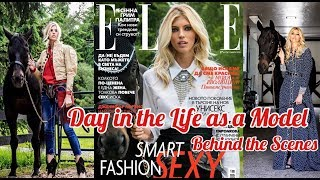 Come Behind the Scenes My Cover Shoot   A Day in the Life as a Model  Devon Windsor