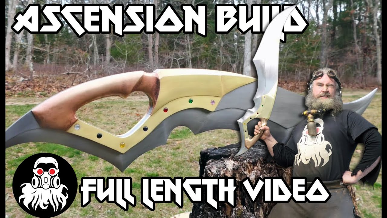 """""""Ascension"""" - A Sword Built by a Master"""