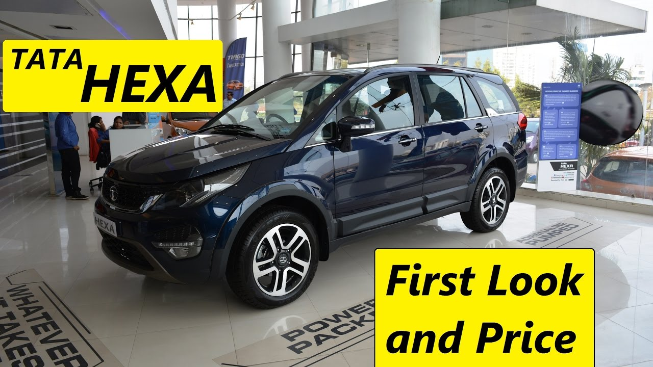 Tata Hexa Price First Look Interior And Exterior Youtube