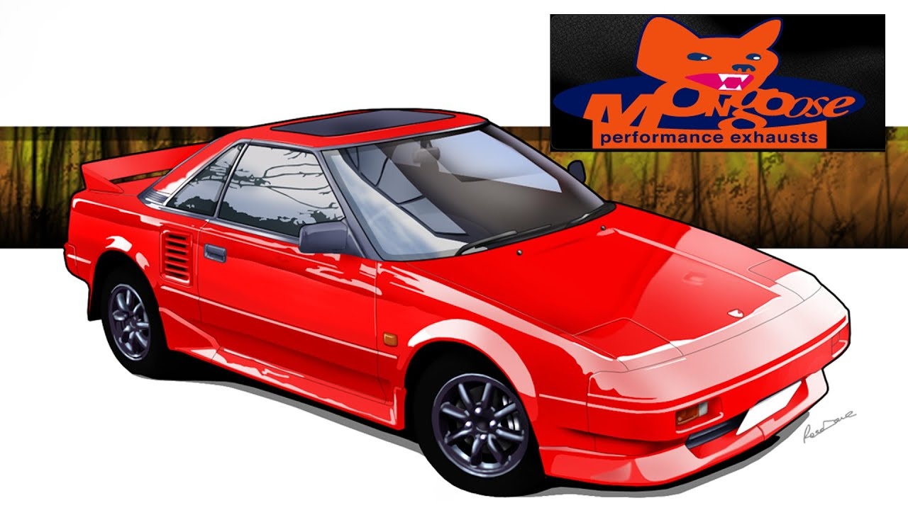 Toyota Mr2 Mk1 Aw11  - Mongoose Exhaust Comparison