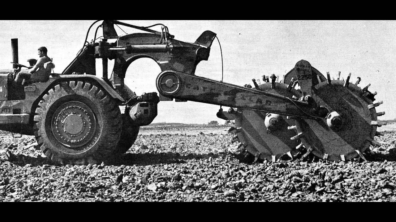Classic earthmovers: The Caterpillar 631A scraper