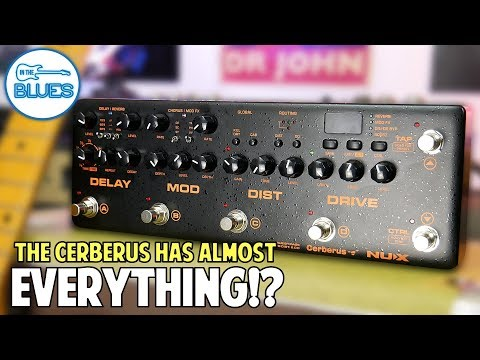NUX Cerberus Multi Effects Pedal It Has EVERYTHING! (Pros & Cons)