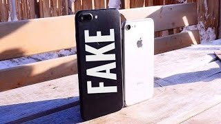 BEST 100$ Fake Iphone 7 Clone From CHINA !