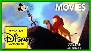 Top 10 Classic Disney Animated Movies of All Time