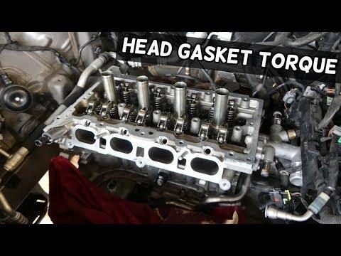KIA FORTE SOUL HEAD GASKET TORQUE SPECS BOLT SEQUENCE