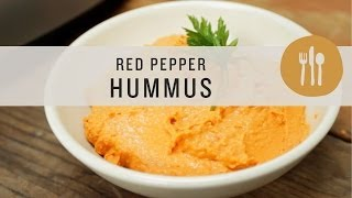 Superfoods - Red Pepper Hummus