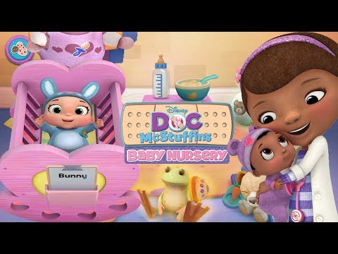 Doc McStuffins Baby Nursery - Baby Bunny Care, Bath Time, Play Time, Dress Up - Disney Jr Kids Game - Duur: 16:05.