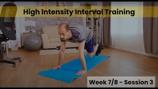 HIIT - Week 7/8 Session 3 (Control)