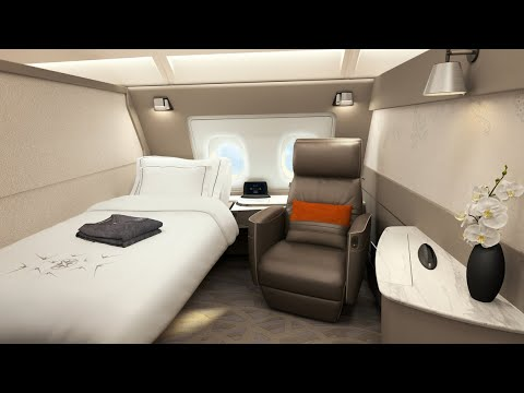 This Airline Cabin Is More Like a Luxury Hotel Room