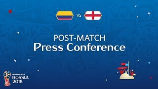 2018 FIFA World Cup Russia™ - COL vs ENG - Post-Match Press Conference