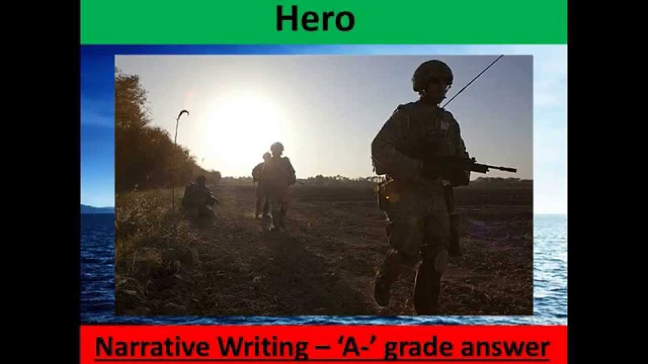 narrative writing gcse examples Question 5 of paper 1 of the gcse english language grade 9-1 course (aqa) is a creative  you may be asked to write a narrative piece (also k  gcse english language 9-1: 20 narrative writing exam-style questions.