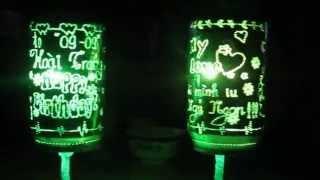 đèn ngủ làm bằng lon bia .................đẹp lắm cã nhà ơi!!!!!!!!!!!!!