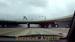 Interstate 80/94 and I-80 West - Hammond, Indiana to Markham, Illinois