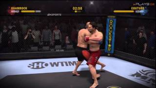 EA Sports MMA I Gameplay Footage PS3 Version