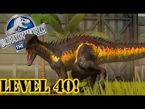 Level 40 Super Hybrid Indoraptor 7c 7c Jurassic World The Game
