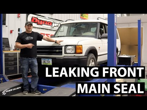 Land Rover Discovery II Front Main Seal Replacement