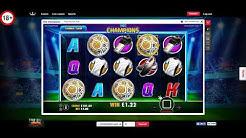 Online Slots - £100 versus The Champions Slot