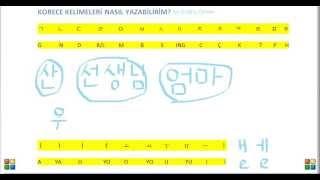 Korece Yazma Alıştırması by Erdinç Orhan