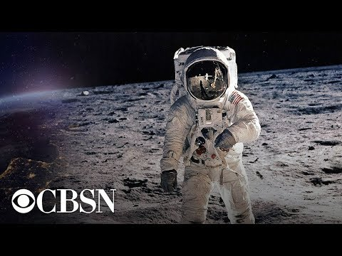 Watch the CBS broadcast of the moon landing, old school commercials and all