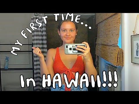 MY FIRST TIME IN HAWAII - Staying In The Aloha Surf Hostel