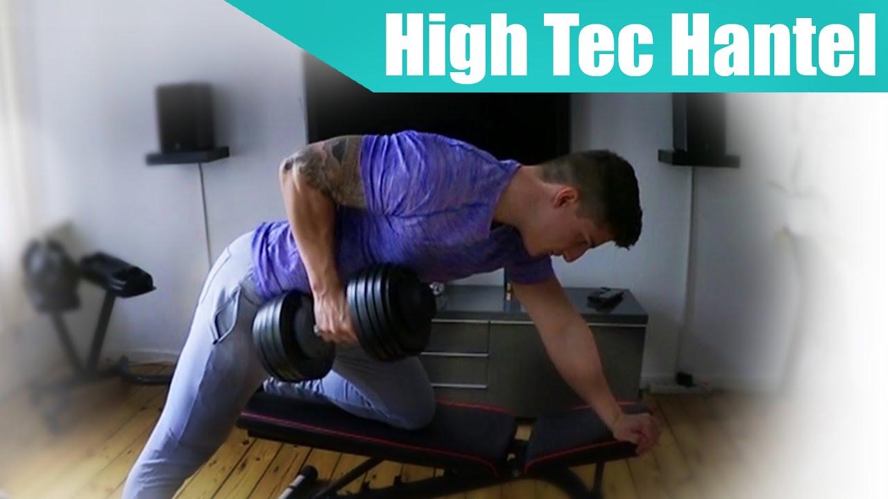 fitnessstudio zu hause mit verstellbarer hantel youtube. Black Bedroom Furniture Sets. Home Design Ideas