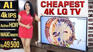 My New LG 55 inch 4K LED TV - Unboxing amp Overview in HINDI