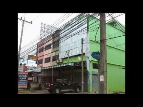 ขายตึกแถวติดถนนเลี่ยงเมือง สุราษฎร์ธานี N12129 www.numberone.co.th