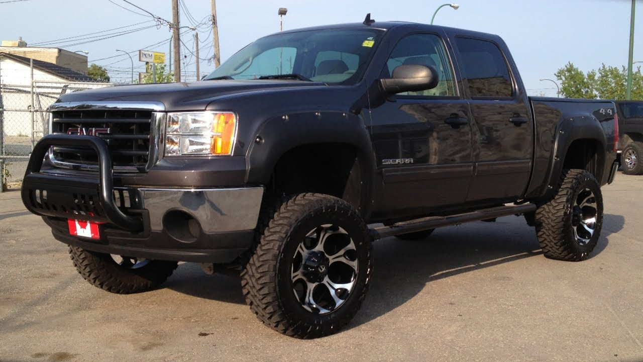 Lifted 2011 GMC Sierra 1500 | Saskatchewan Custom Trucks ...