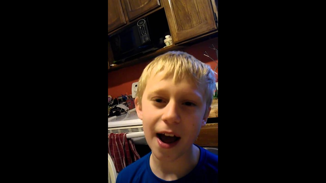 Youtube Boys In Makeup: 11 Year Old Boy Sings National Anthem