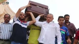 مصر العربية   جنازة الفنان والاعلامى عمرو سمير