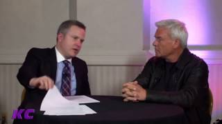 Eric Bischoff - Mick Foley Losing His Ear + Bobby Heenan Joining WCW