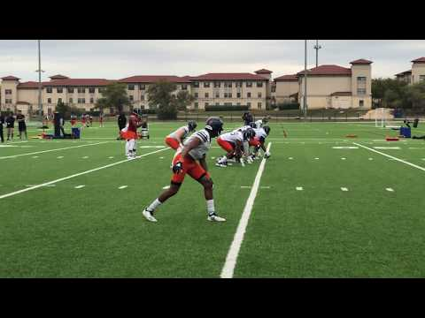 UTSA Football Spring Practice Sights & Sounds 3.20.19