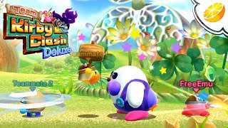 Team Kirby Clash Deluxe | Citra Emulator Canary 443 (GPU Shaders, Full Speed!) 1080p | Nintendo 3DS