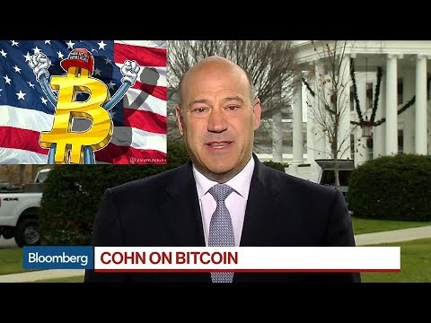 Gary Cohn Says White House Is Watching Bitcoin  - Bloomberg -