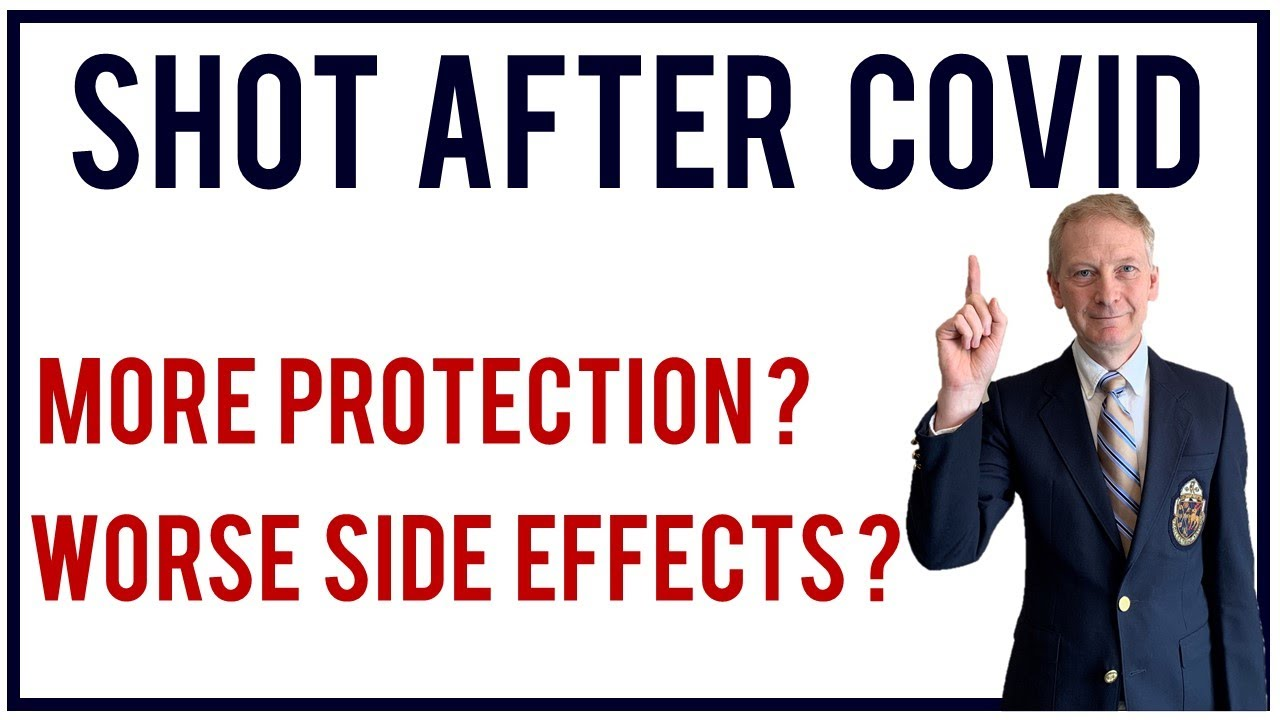 Vaccination after COVID | Better protection? Side effects worse?