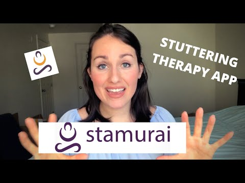 The Best Stuttering Therapy App Introducing Stamurai Youtube