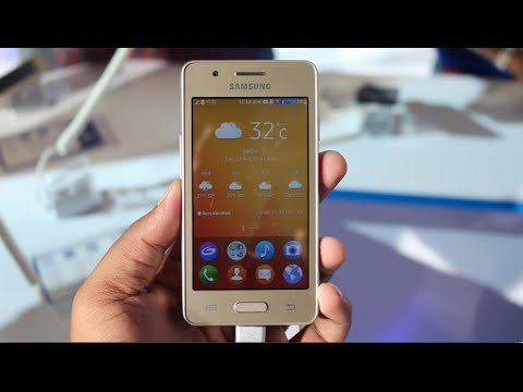 Samsung Z2 Hands On Camera Features Tizen Os Youtube