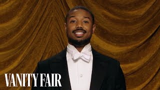 Black Panther's Michael B. Jordan Loves to Iron | Secret Talent Theatre | Vanity Fair