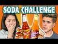 SODA CHALLENGE! (ft. React Cast)   Challenge Chalice