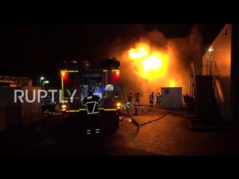Germany: Blaze breaks out at refugee shelter in Hamburg