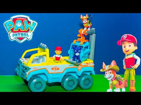 PAW PATROL Nickelodeon All Terrain Jungle Vehicle a New PawPatrol Toys Video