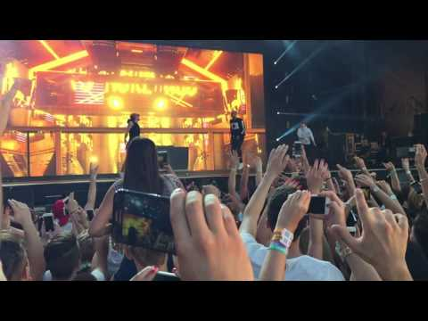 Chris Brown at Balaton Sound 2016 - Five more hours