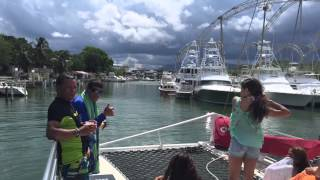 Fun Day With Catamaran Salty Dog 9-23-15