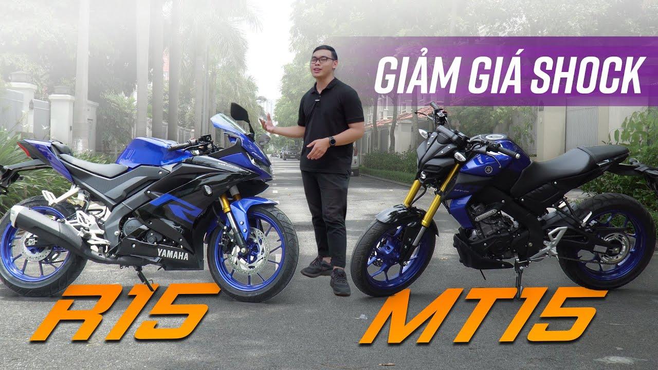 Yamaha R15 và MT-15 giảm giá SHOCK, phá đảo phân khúc côn tay 150cc!